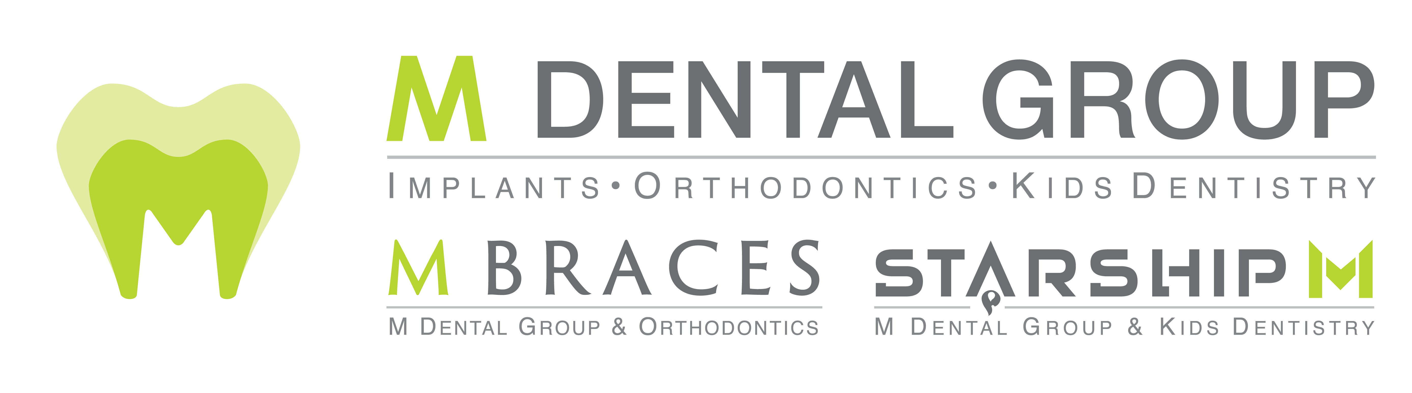 M Dental Group Logo