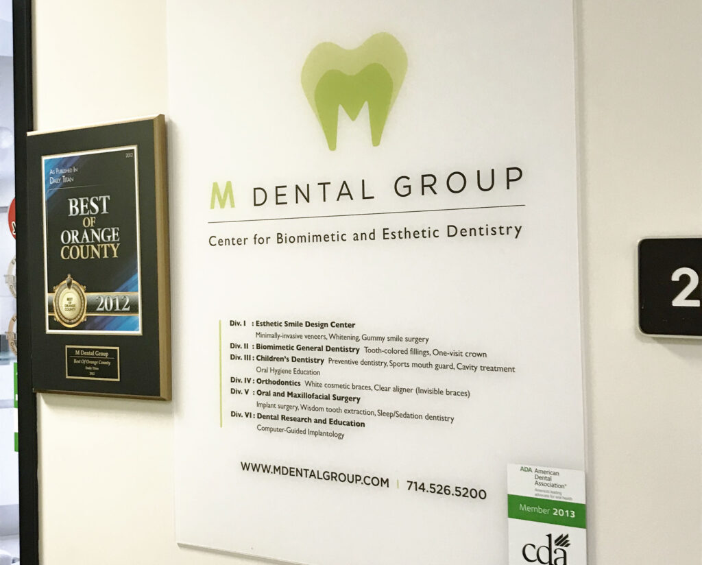 biomimetic and esthetic signage
